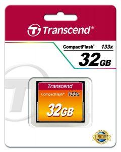 כרטיס זיכרון CF 32GB X133