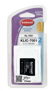 סוללה נטענת חליפית לקודאק KLIC 7001