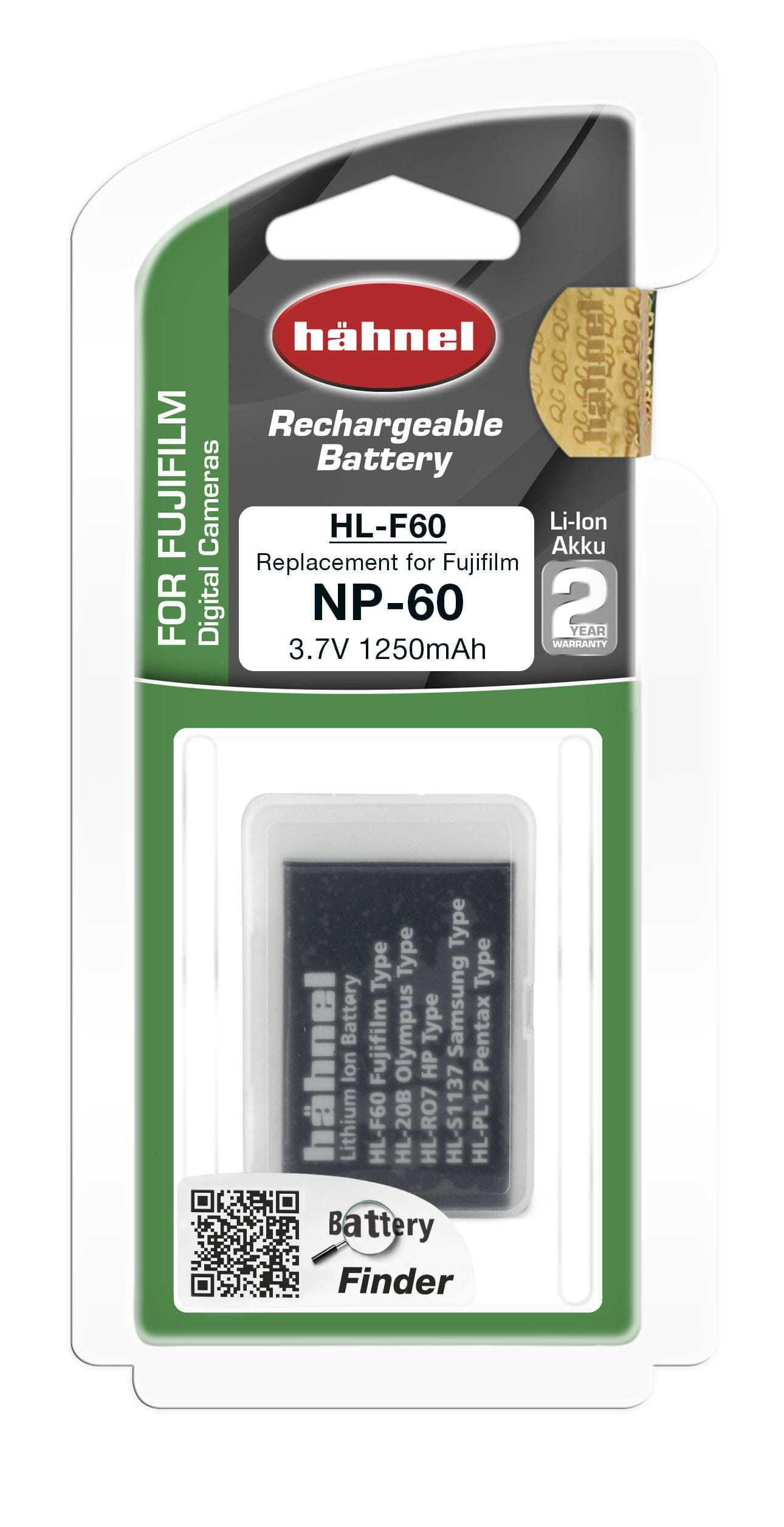 סוללה נטענת חליפית לפוג'י NP-60