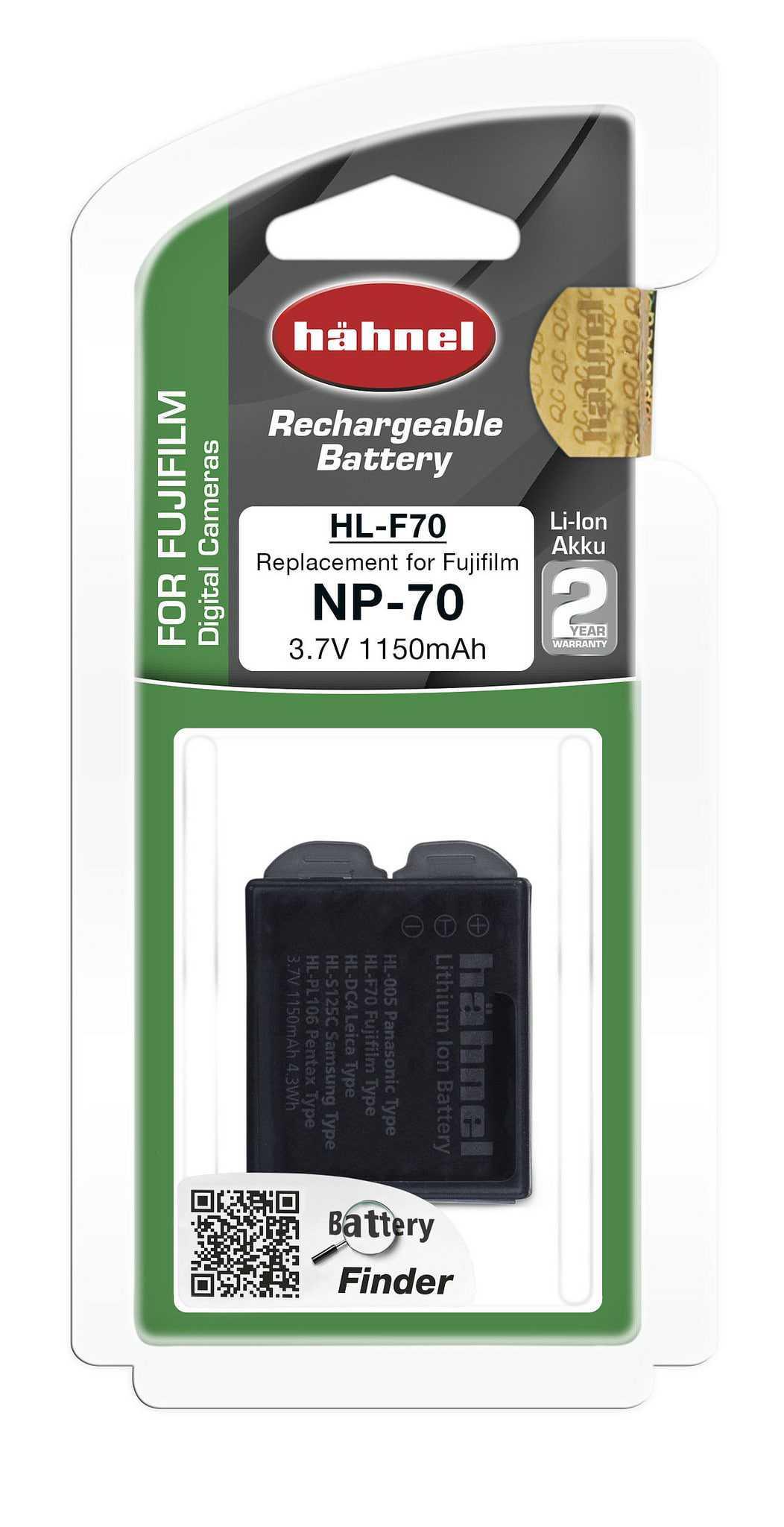 סוללה חליפית לפוג'י NP-70