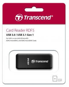 קורא כרטיסים TRANSCEND RDF5