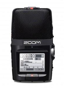 מקליט אודיו zoom h2n