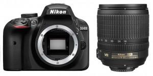 """מצלמה דיגיטלית D3400 עם עדשה 18-105 מ""""מ"""
