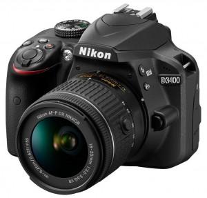 מצלמה דיגיטלית D3400 עם עדשה