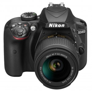 D3400 with 18-55mm