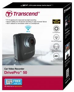 מצלמת רכב TRANSCEND