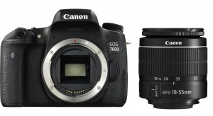 canon 760d with 18-55mm
