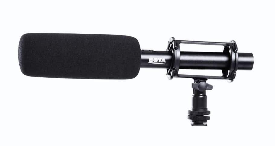 מיקרופון למצלמה BOYA BY-PVM1000
