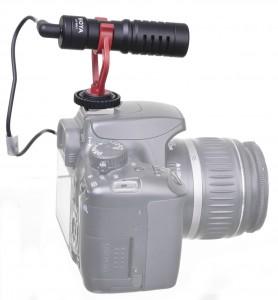 מיקרופון מקצועי למצלמות