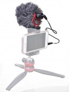 מיקרופון מקצועי למצלמות BOYA- BY-MM1
