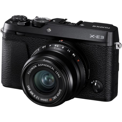 XE3 with 23mm