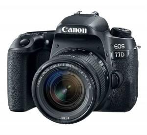 מצלמה דיגיטלית CANON EOS 77D WITH 18-55MM