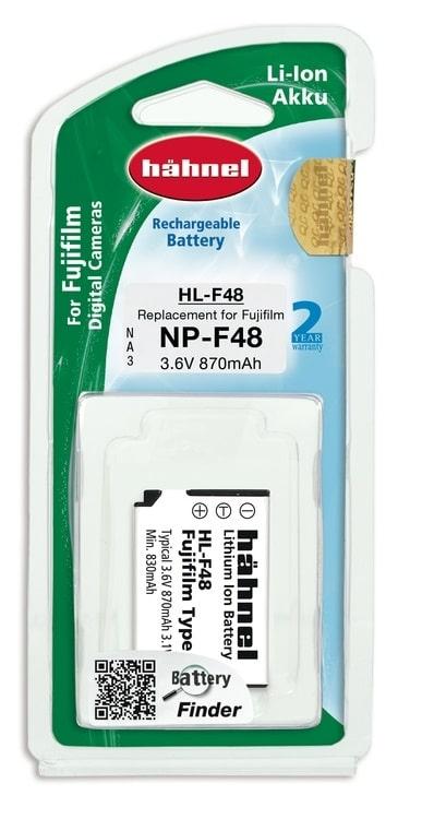סוללה חלופית HAHNEL HL-F48 למצלמות FUJI