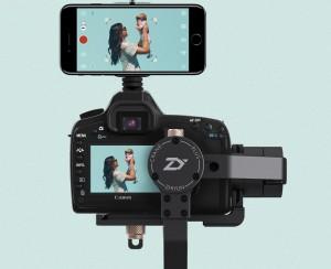 כולל פונקציית מעקב אחר מצולם בחיבור סמארטפון למצלמה