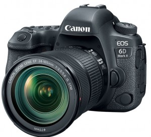 canon eos 6D mark II with 24-105mm