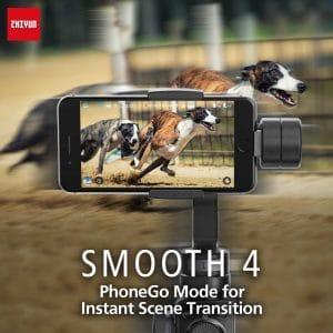גימבל מייצב לסמארטפון SMOOTH4