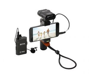 WIRELESS MICROPHONE FOR SMARTPHONE