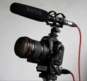 rode ntg2 condenser microphone