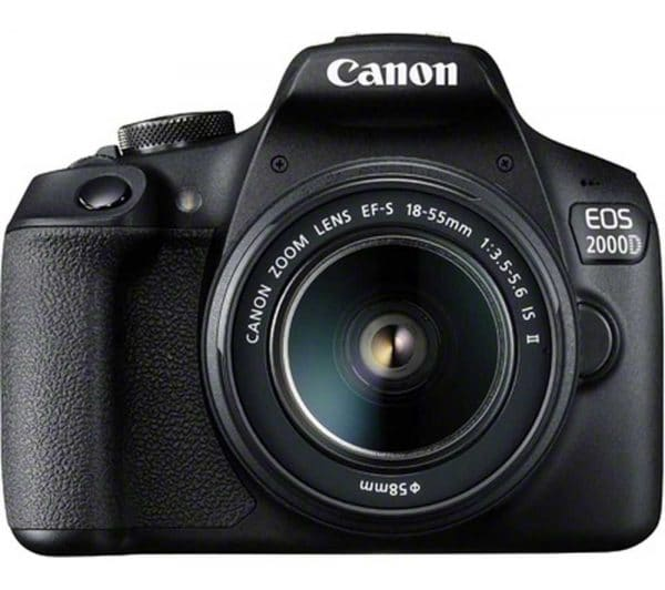 מצלמה דיגיטלית canon eos 2000d