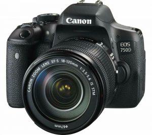 מצלמת קנון EOS750D18-135MM