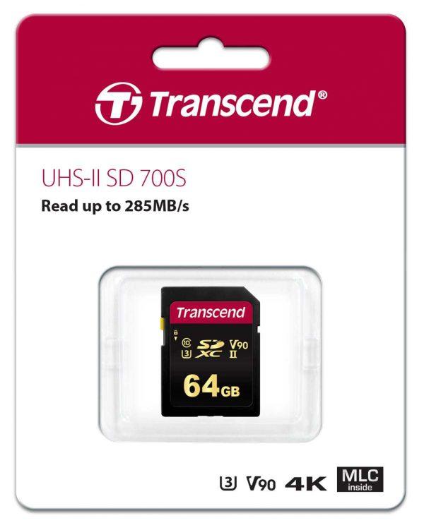 כרטיס זיכרון SD 700S בנפח 64GB