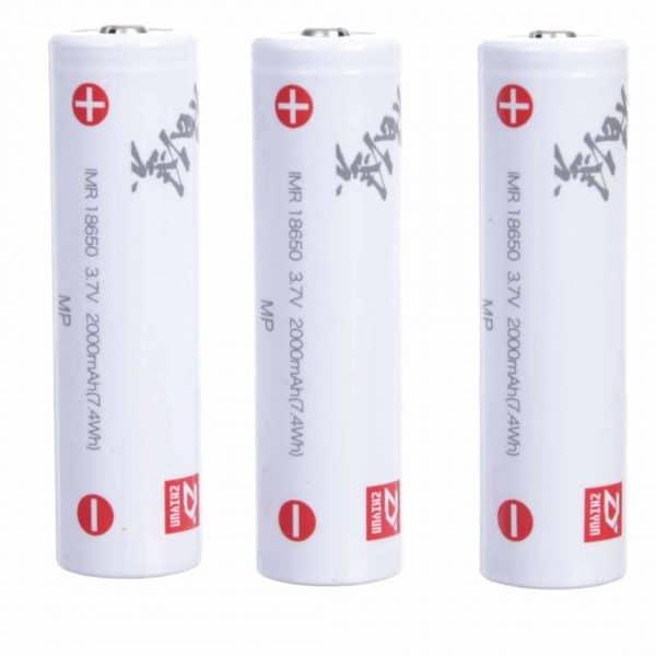 ZHIYUN 18650 Batteries x3