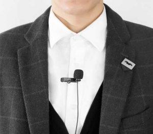 מיקרופון עניבה לאייפון BOYA BY-DM1