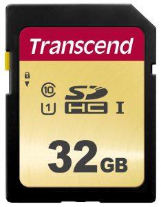 כרטיס זיכרון TS32GSDC500S