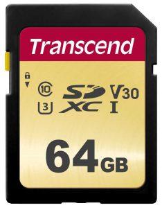 כרטיס זיכרון TS64SDC500S