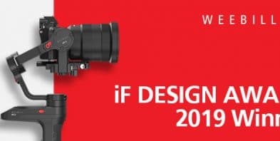 Weebill gimbal winning iF design