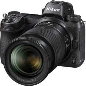 Nikon z7 with 24-70mm lens