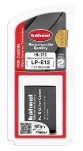 Hahnel סוללה חליפית לCanon LP-E12