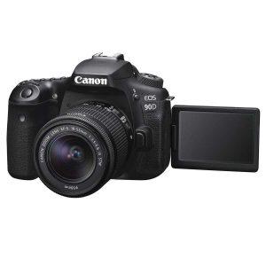 מצלמת Canon 90D  ועדשה 18-135