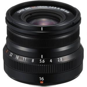 עדשה למצלמה FUJI XF 16MM F/2.8