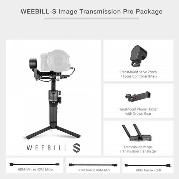 ZHIYUN Weebill S kit