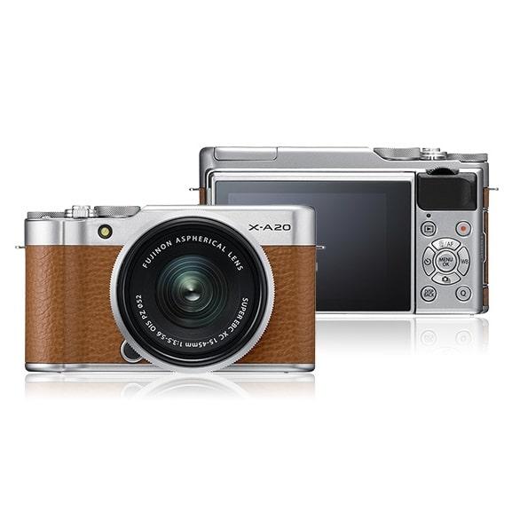 מצלמה דיגיטלית ללא מראה FUJI X-A20