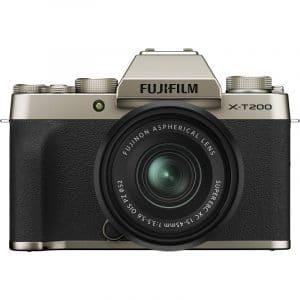 """מצלמה ללא מראה X-T200 עם עדשה 15-45 מ""""מ"""
