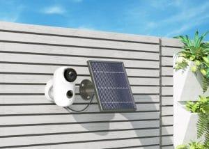 מצלמת אבטחה עם יחידה סולארית HMD2
