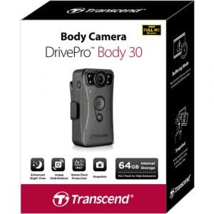 מצלמת גוף לשוטרים Transcend BODY 30