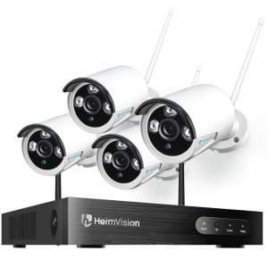 קיט מצלמות אבטחה חיצוניות HM241