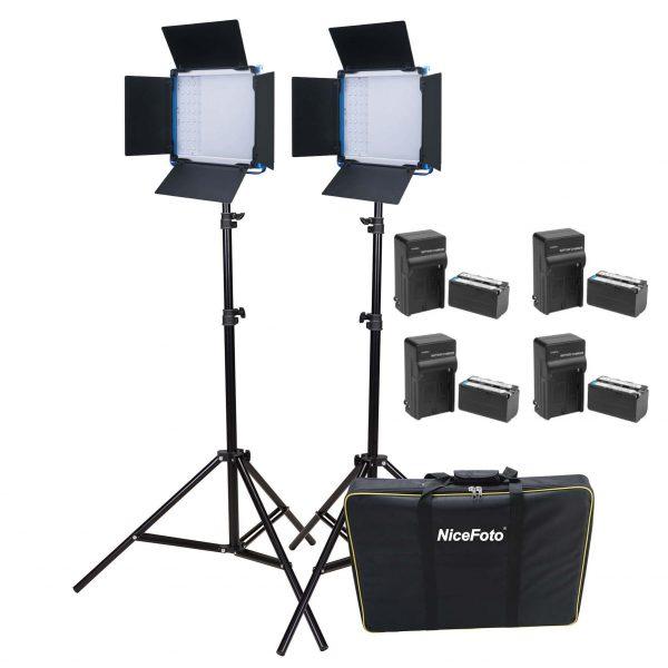 קיט תאורה לסטודיו SL-600A