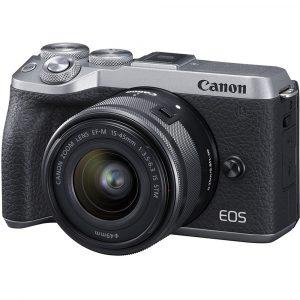"""מצלמה ללא מראה M6 MARK II עם עדשה 15-45 מ""""מ"""