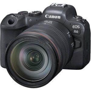 """מצלמה ללא מראה EOS R6 עד עדשה 24-105 מ""""מ"""