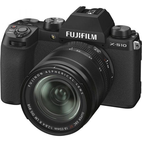 """FUJI X-S10 עם עדשה 18-55 מ""""מ"""