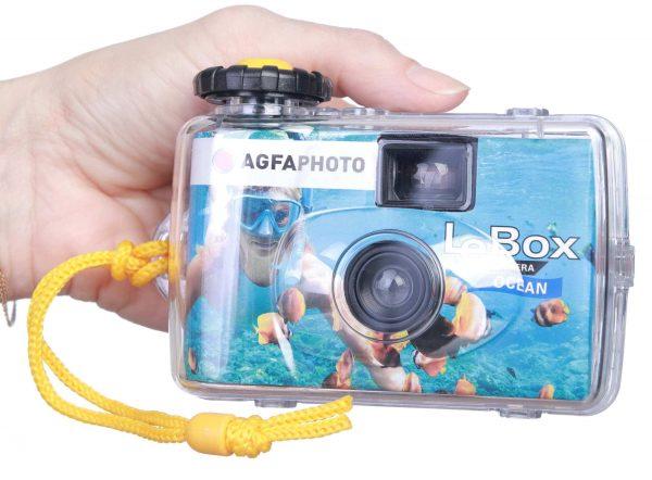 מצלמת AGFA חד פעמית נגד מים