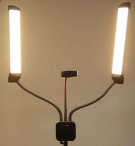 תאורת ביוטי כפולה אור צהוב