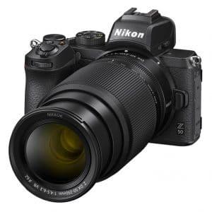 """מצלמת NIKON Z50 עם עדשה 50-250 מ""""מ"""