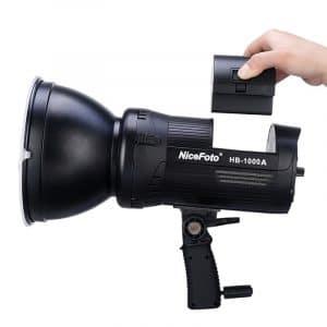 פנס לד מקצועי NICEFOTO HB-1000A