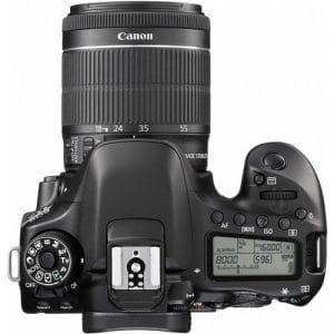 מצלמת CANON 80D עם עדשה 18-55