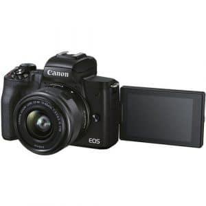 """מצלמה ללא מראה CANON M50 II עם עדשה 15-45 מ""""מ"""